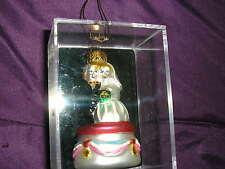 Bride and Groom/Wedding 1st Christmas Ornament - Cake