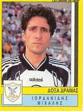N°091 PLAYER DOXA DRAMA GREECE HELLAS PANINI GREEK LEAGUE FOOT 95 STICKER 1995