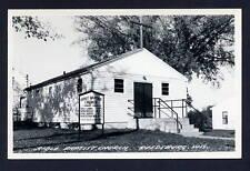 Bible Baptist Church Reedsburg Wisconsin WI RPPC postcard