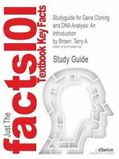NEW Studyguide for Gene Cloning and DNA Analysis: An Introduction by Brown, Terr
