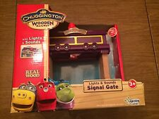 Chuggington LC56806 Lights & Sounds Signal Gate New in Box for Wooden Railway Sy