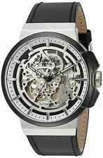 KENNETH COLE AUTOMATIC STAINLESS STEEL MEN'S WATCH WITH SKELETON DIAL 10022314