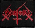 Ex-inferiis logo patch Black metal Blasphemophagher Children Of Technology