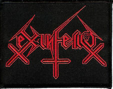 Ex-inferiis logo patch Black metal Blasphemophagher Children Of Technology
