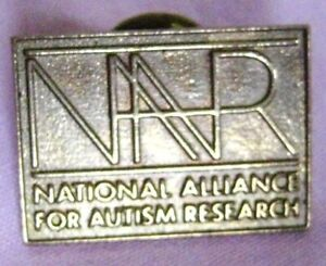 Collectible brass Lapel,Hat pin NAFAR 66390 Union Made in USA Autism Research