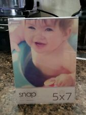SNAP 5x7 Clear Acrylic Self Standing Frame
