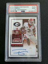 2015 Contenders Rookie Ticket TODD GURLEY AUTO RC PSA 9 POP 1/3 🔥HOT🔥 📈INVEST