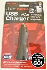 Juice Bank USB in car Charger