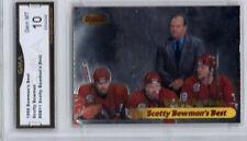 GMA 10 Gem Mint SCOTTY BOWMAN 1998/99 Bowman's Best #11 Bowman's Best GO WINGS!