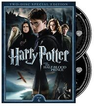 HARRY POTTER AND THE HALF-BLOOD PRINCE 2 DISC SPECIAL EDITION DVD