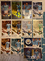 TOPPS BEST OF THE BEST 2020/21 CHAMPIONS LEAGUE TEAM SET OF 12 MANCHESTER CITY