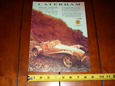 CATERHAM SUPER 7 LOTUS - ORIGINAL 1993 AD