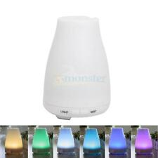 New Ultrasonic Cool Mist Aroma Humidifier with 7 Color Changing LED Lamps 120ml