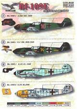 Print Scale Decals 1/48 MESSERSCHMITT Bf-109E German Fighter Part 1