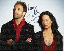 Elementary signed Lucy Liu Jonny Miller 8X10 photo picture poster autograph RP