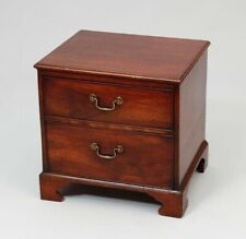 Period Miniature George Iii Mahogany Chest of Drawers