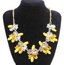 Fashion Charm Pendant Chain Crystal Jewelry Choker Chunky Statement Bib Necklace Style 15