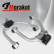 For Lexus IS300 01-05 Left/Right 2Piece Adjustable Front Upper Camber Kit Silver
