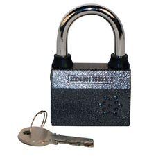 ALARM Padlock Motion Sensor Bike Home Gate Fence SECURITY SIREN Anti Theft Lock