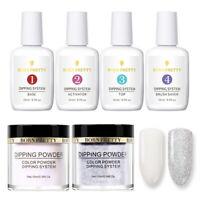 6Pcs BORN PRETTY 10ml Dipping Powder 15ml Dip System Liquid Nail Art Starter Kit