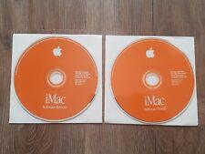 1999 Mac Macintosh iMac System Software Installation Restore v1.1 OS 8.6 CD-ROM
