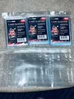 Ultra PRO  2 5/8 X 3 5/8 standard Sleeves, Ultra Clear - 100 Count x 3 packs