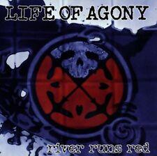 """LIFE OF AGONY """"RIVER RUNS RED"""" CD NEUWARE!!!!!!!!!!!!!!"""