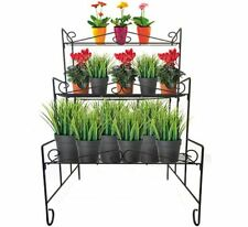 Classic 3 Tier Plant Stand Gardman Pot Rack Garden Shop Display Shelf Storage