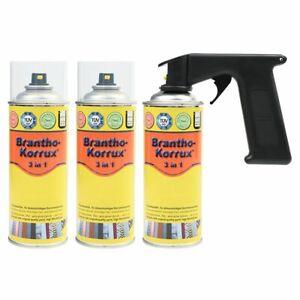 Brantho Korrux 3in1 Rostschutzfarbe Spraydose Sprühdose 3x400 ml RAL Farbauswahl