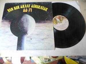 "VAN DER GRAAF GENERATOR""68-71-DISCO 33 GIRI CHARISMA Italy 1972"""