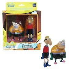 "SpongeBob SquarePants Mini Figure World 3"" MermaidMan & 4"" BarnacleBoy Sbmfw0301"