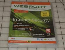 Webroot Secure Anywhere Internet Security 3 Device Protection Win/Mac/And/iOS