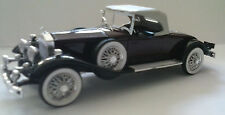 RIO 1:43 AUTO DIE CAST CAR ROLLS ROYCE 1931 BORDEAUX BEIGE E NERO ART 39