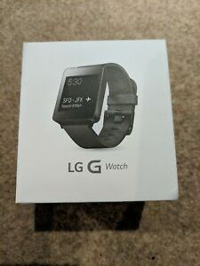 Genuine LG G Smart Watch W100 Black Android Wear IOS