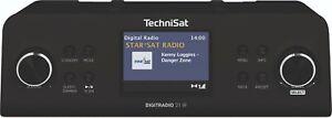 TechniSat DIGITRADIO 21 IR - Unterbaufähiges DAB+ und Internetradio, schwarz