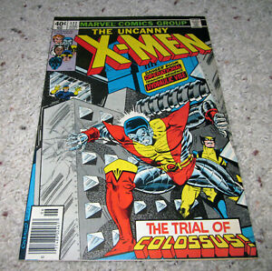 X-men 122 VF+ Bryne Art Cyclops Wolverine Nightcrawler Storm LOT MCU