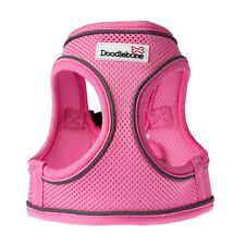 Doodlebone Dog Harness Snappy EASY FIT AirMesh Padded Vest Small S Pink