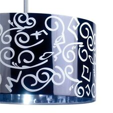 La Creu Pop Pendant Shade Only, Black/White, BNIB, BD, Home, Lighting, Decor (M)