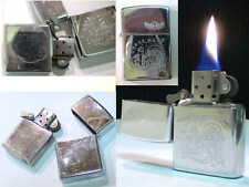 briquet Ancien ZIPPO édition Rebel Daze Strom wick Lighter feuerzeug Acendino