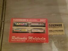 Fleischmann N Scale piccolo #8807. 4 Passenger Cars Limited Edition Special