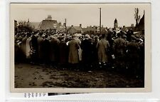 Uncaptioned picture postcard of event believed to be in Coldstream (C27103)