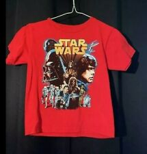 Boys Star Wars Red T-shirt size 5/6