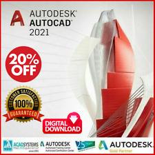 Autodesk AutoCAD 2021 Lifetime Activation  pre-activated Version  WINDOWS