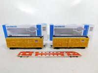 CE647-0,5# 2x Bachmann H0/DC 18501 US-/USA-Güterwagen 47736 UP/Pacific, NEUW+OVP