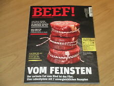 BEEF! NO. 44 - VIERUNDVIERZIG - 2/2018 - MAENNER KOCHEN ANDERS - VOM FEINSTEN