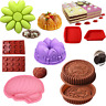 Silicone Mold Pan Bread Muffin Bakeware Tray Baking Chocolate Pizza Pastry Mould