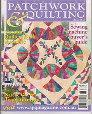 Australian Patchwork & Quilting - SEVEN magazines - and Choose from 78 - Bulk