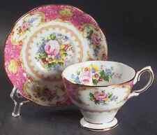 Royal Albert LADY CARLYLE Malvern Cup & Saucer 5936872