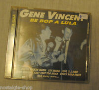 CD Gene Vincent Be Bop A Lula  Rockn Roll Rockabilly music