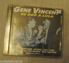 CD Gene Vincent être Bop A Lula Rockn Roll Rockabilly musique